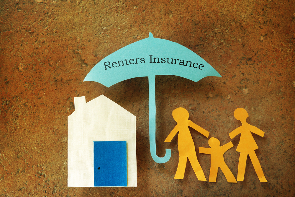 Standard renters insurance coverage